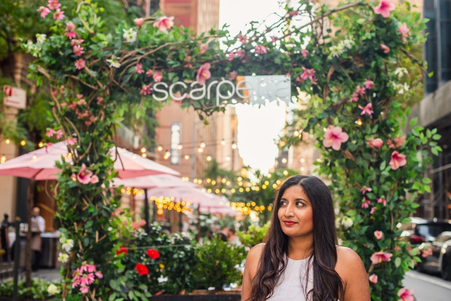 Enjoy Beautiful Outdoor Dining in NYC at Scarpetta